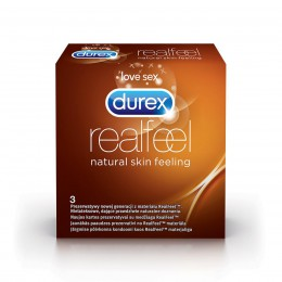 PREZERWATYWY DUREX REAL FEEL A3